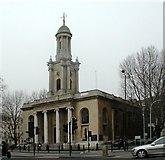 TQ2882 : Holy Trinity, Great Portland Street, London W1 by John Salmon