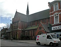 TQ2284 : St Andrew, High Road, Willesden, NW10 by John Salmon