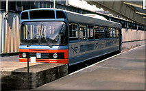 J3475 : Railbus, Belfast (2) by Albert Bridge