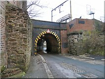 SJ9496 : Tunnel under Hyde North by Gerald England