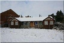SU5985 : Sad looking pavilion by Bill Nicholls