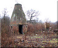 TG2407 : The Deal Ground - the old bottle oven by Evelyn Simak