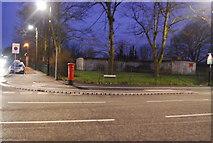 TQ7668 : Postbox on the corner of Brompton Rd & Marlborough Rd by N Chadwick