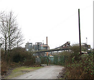 TG2407 : Lafarge Aggregates viewed from the north-east by Evelyn Simak