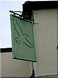 SO8480 : The Eagle & Spur sign, 176 Castle Road by P L Chadwick