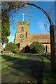 SO8157 : Lower Broadheath Church by Philip Halling