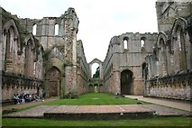 SE2768 : Fountains Abbey by David P Howard