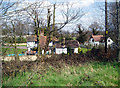 TQ4869 : Houses on Chapmans Lane by Dr Neil Clifton