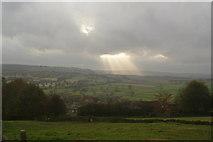 SK2572 : Fields above Baslow by Bill Boaden
