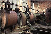 SS6694 : Uniflow steam engine, Landore Works by Chris Allen
