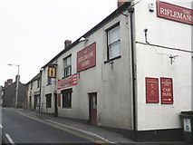 ST5038 : The Riflemans Arms, Chilkwell Street, Glastonbury by Roger Cornfoot