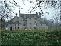 NJ5429 : Leith Hall in Spring by JThomas