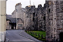 SC2667 : Castletown - Castle Rushen and Police Station by Joseph Mischyshyn