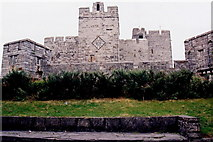 SC2667 : Castletown - Castle Rushen - View to north. by Joseph Mischyshyn