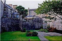SC2667 : Castletown - Gardens along southwest castle walls by Joseph Mischyshyn