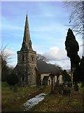 SK1750 : St Edmund's Parish Church at Fenny Bentley by SMJ
