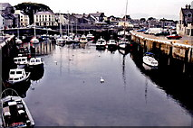 SC2667 : Castletown - Silver Burn River, quays, and harbour by Joseph Mischyshyn