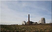 SK4964 : Pleasley Colliery refurbishment (5) by Alan Murray-Rust