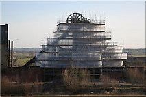 SK4964 : Pleasley Colliery refurbishment (7) by Alan Murray-Rust