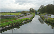 SJ9922 : Canal crossing the River Trent, Great Haywood, Staffordshire by Roger  Kidd