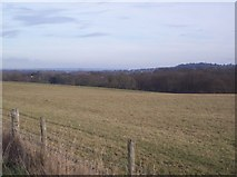 TQ5344 : View from Eden Valley Walk towards Tonbridge by David Anstiss