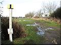 TG1506 : Oil pipeline marker beside Mill Road by Evelyn Simak