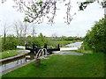 SJ6152 : Swanley Lock No 2 near Burland, Cheshire by Roger  Kidd