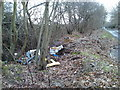 SU4711 : Fly tipping on Botley road by dinglefoot