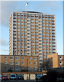 TQ3282 : Kestrel House towerblock, London EC1 by Andy F