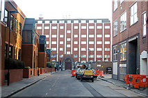 TQ3282 : Looking south along Macclesfield Street, London EC1 by Andy F