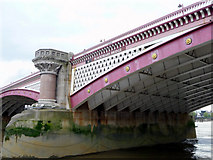 TQ3180 : Blackfriars Bridge, London by Christine Matthews