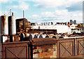 NS5068 : Oil refinery, Meadowside St, 1977 by David Douglas