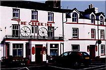 SC2484 : Peel - East Quay - The Creek Inn by Joseph Mischyshyn