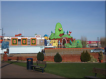 TG5307 : Children's Fun Park, Great Yarmouth by John Rostron