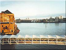 TQ3680 : River Thames, Docklands by David P Howard
