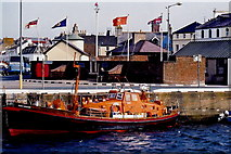 SC2484 : Peel - West Quay - Lifeboat  Manx Voyager by Joseph Mischyshyn