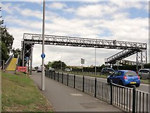 TQ1372 : Footbridge at Whitton by Anonymous