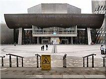 SJ8097 : Salford Quays, The Lowry Centre by David Dixon