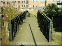 SK3436 : Bridge over Markeaton Brook, Searl Street, Derby by Eamon Curry