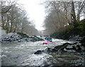 SD6294 : Rocky rapids below Firbank by Andy Waddington