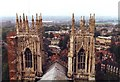 SE6052 : View West from York Minster by David P Howard