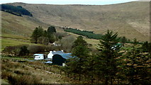 G7083 : Farm in valley below Balbane by louise price