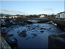 SC2667 : Upper harbour and boatyard Castletown by Richard Hoare