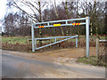 TL9386 : Entrance to Peddars Way car park by Brettenham Heath by Evelyn Simak