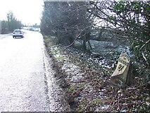 TM4072 : Old Milepost by Keith Evans