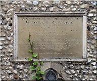 TL8783 : St Cuthbert, Thetford, Norfolk - Wall monument by John Salmon