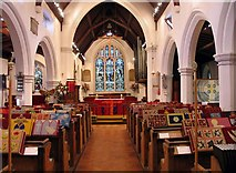 TL8783 : St Cuthbert, Thetford, Norfolk - East end by John Salmon