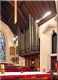 TL8783 : St Cuthbert, Thetford, Norfolk - Organ by John Salmon