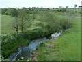 SJ6544 : The River Weaver near Audlem, Cheshire by Roger  Kidd
