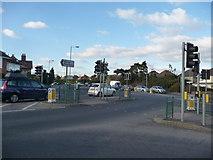 SZ0995 : Bournemouth : Muscliff - Wimborne Road Junction by Lewis Clarke